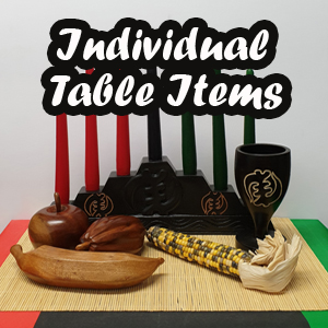 Individual Kwanzaa Table Items