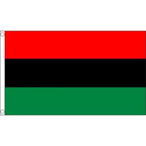 Kwanzaa Table Flags
