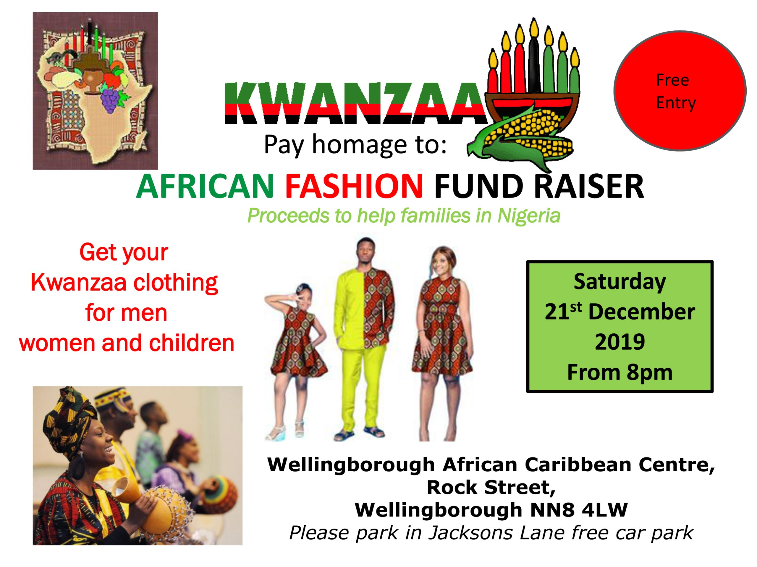 UK Kwanzaa Events 2019